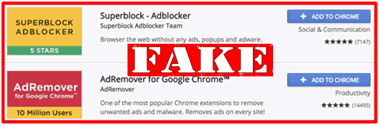 Fake Ad Blocking Products Downloaded 20 Million Times
