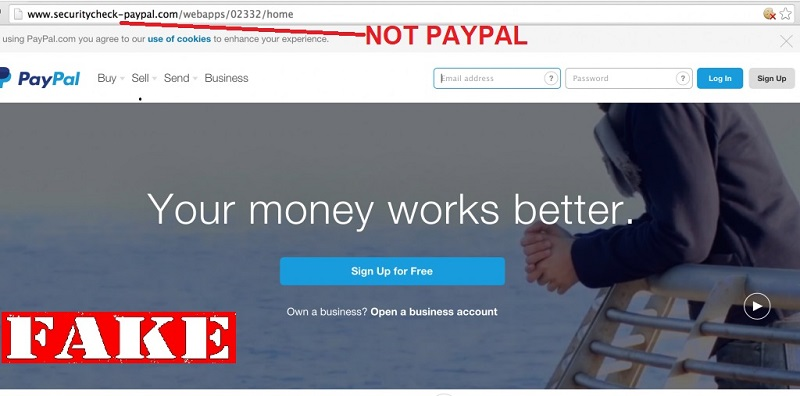 PayPal Phishing Scams Gaining Sophistication