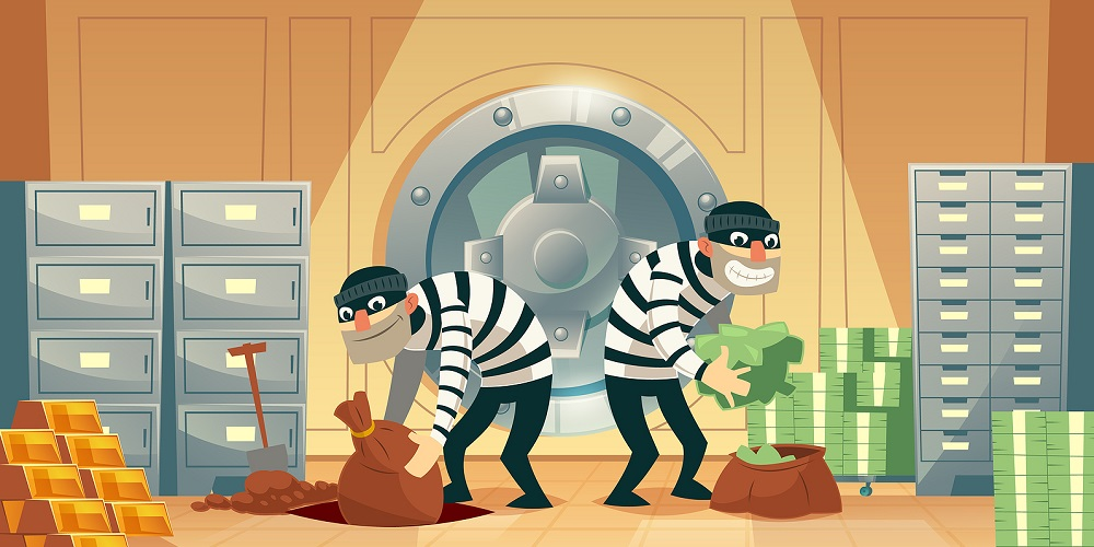 Bank Robbers Working Overtime: Financial Industry Most Hacked