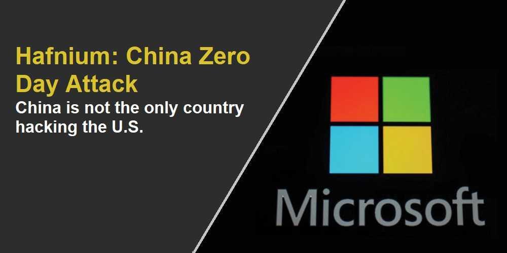 More Hackers; More Hacks. Microsoft Says It's Not Just Hafnium Attacking Exchange Servers