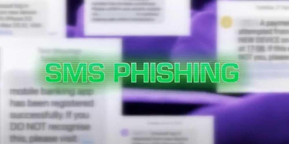 Online Banking Smishing Scam